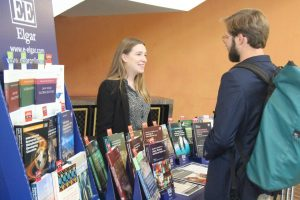 LDRN Law and Development Research Network Conference Edward Elgar Publishers book stand